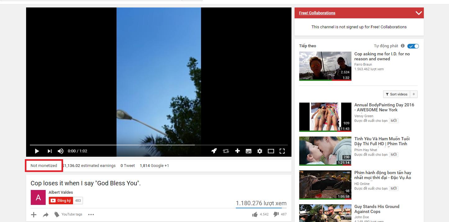 Hướng dẫn kiểm tra video có bị bản quyền không trên Youtube dành cho Re-upload