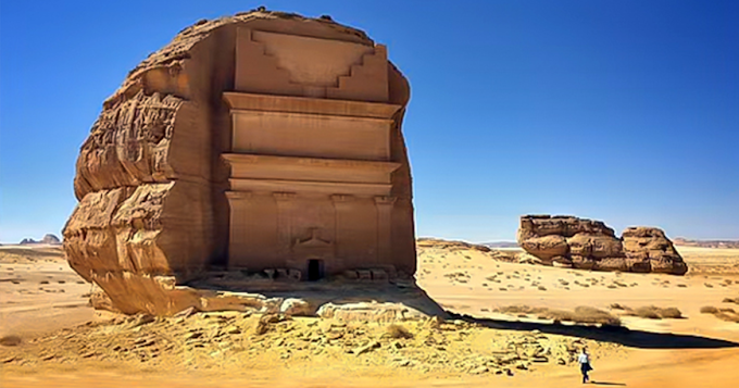 Lost Ancient Civilizations in the Middle of Nowhere (video)