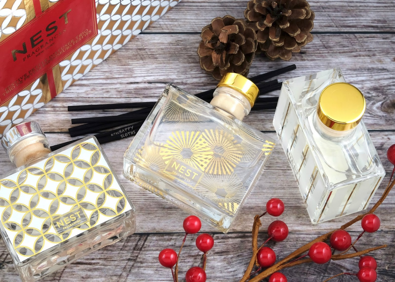 NEST Fragrances | Holiday 2019 Festive Petite Diffuser Trio: Gift Guide