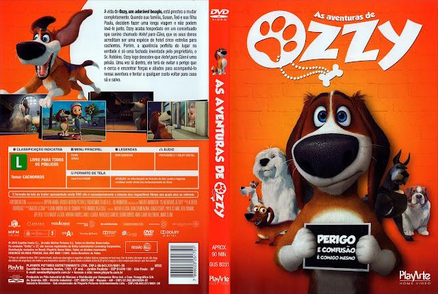 Capa DVD As Aventuras de Ozzy (Oficial)