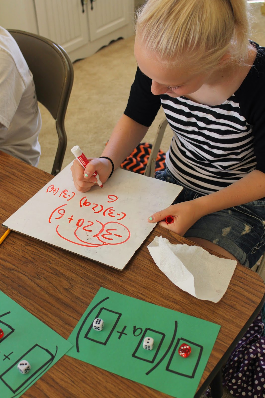 Apples 4 Bookworms Distributive Property Hands On Activity