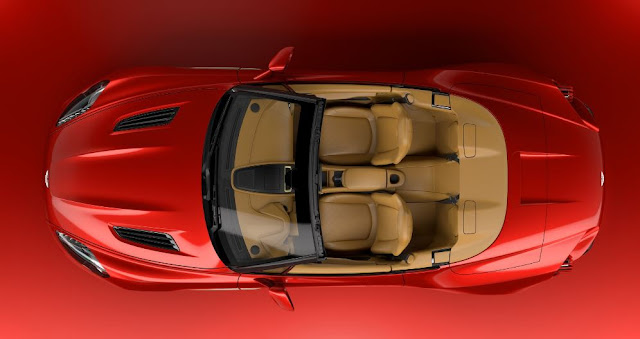 Vanquish Zagato Volante - Aston Martin mantiene del legado de descapotables