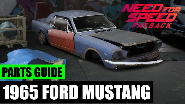 Need For Speed Payback Derelict Parts Locations Ford Mustang 1965
