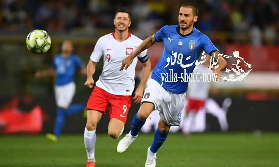نتيجة مباراة ايطاليا وبولندا تصفيات بطولة امم اوروبا 2021