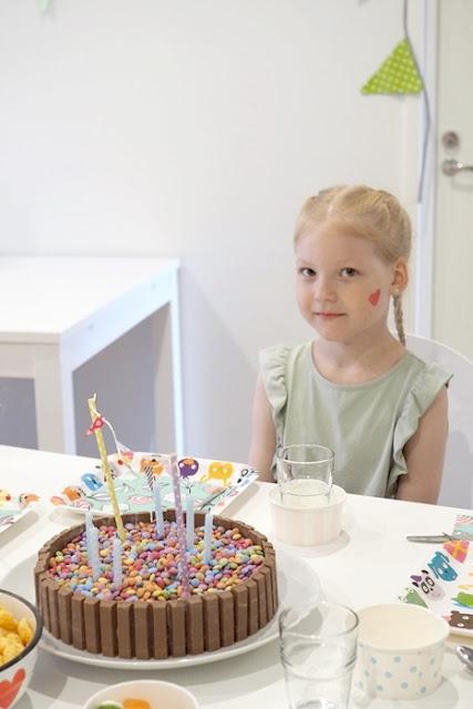 KitKat kakku Sirkussynttärit Hyvinvoinnin Walimo