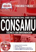 Apostila CONSAMU PR 2017 Técnico em Enfermagem
