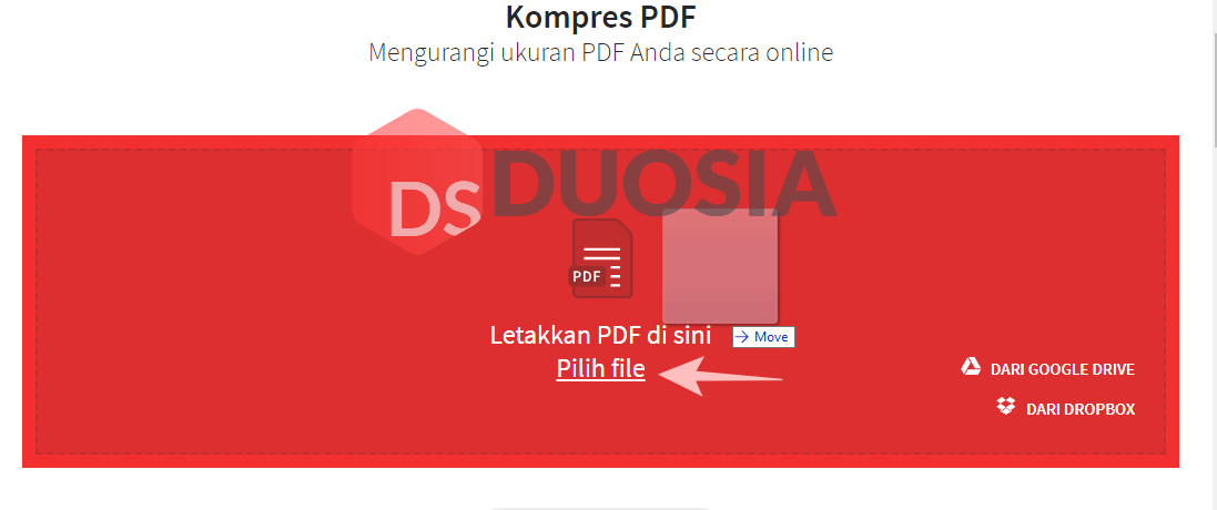 cara kompres file pdf online