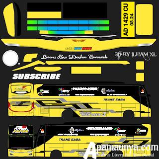 Livery Trans Saba Bussid Terbaru JB3+ Versi SHD