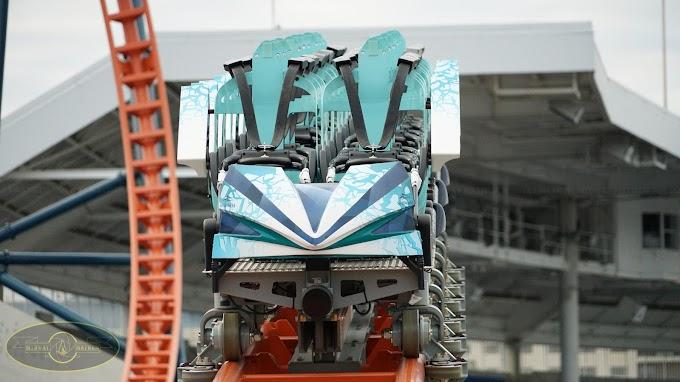 SeaWorld Orlando avança nas obras de sua nova montanha-russa, a Ice Breaker! - Atualização 7