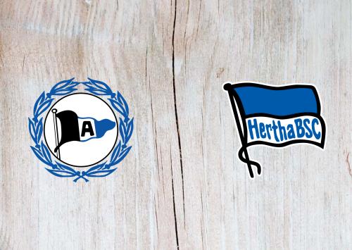Arminia Bielefeld vs Hertha BSC -Highlights 10 January 2021