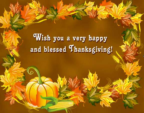 Thanksgiving Wishes Lovely Pics