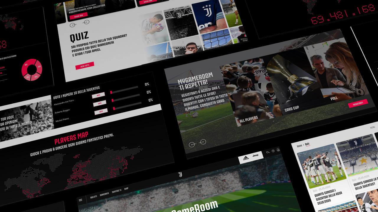 MyGameRoom è la nuova piattaforma social della Juventus