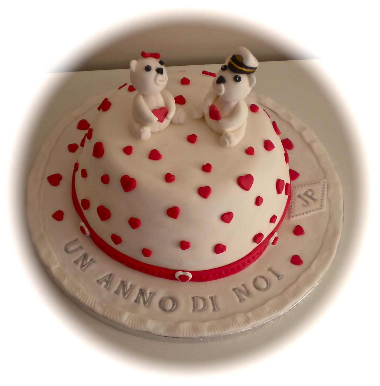 Amato LE TORTE DI PATRICIA: Torta di anniversario di fidanzamento VW17