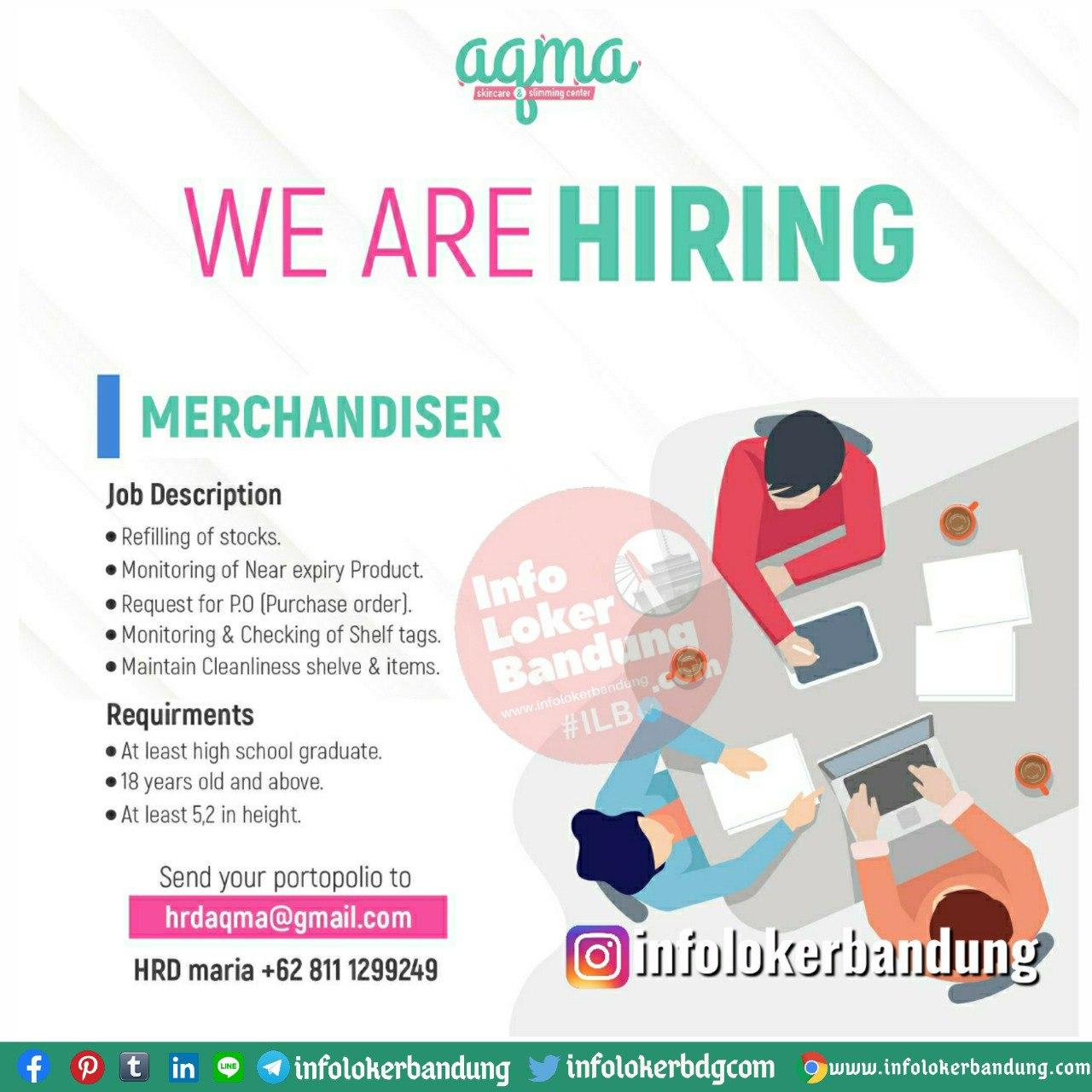 Lowongan Kerja Aqma Aesthetic Clinic Bandung Juli 2020