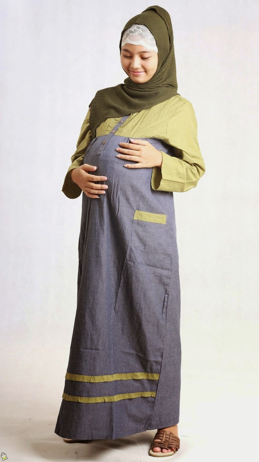 Baju Lebaran Ibu Hamil   Model Baju Lebaran