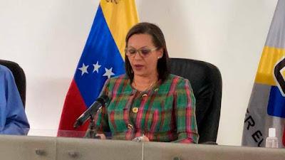 Presidenta del CNE