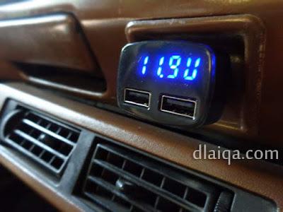 indikator voltmeter