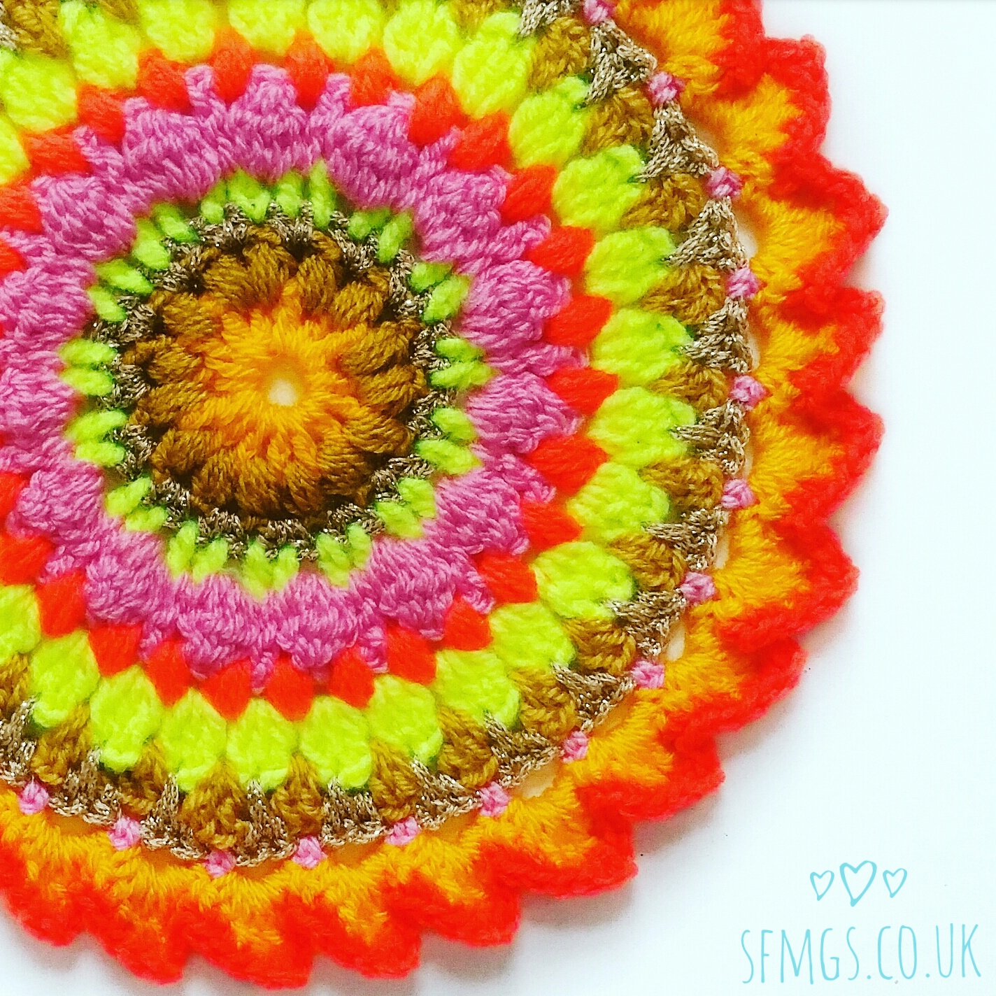mandala crochet pattern free sfmgs boho craft crocheting