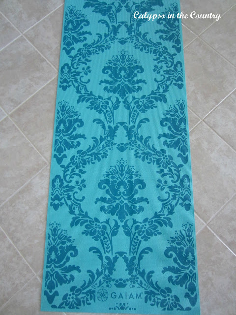 Yoga Mat - This one is almost pretty enough to be mistaken for a rug!