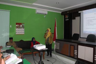 Kemenag Tanjungbalai Adakan Pembinaan Tentang ANJAB dan ABK