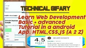 My Best App For Guide to Learning Web Development [ HTML, Css, Javascript ]