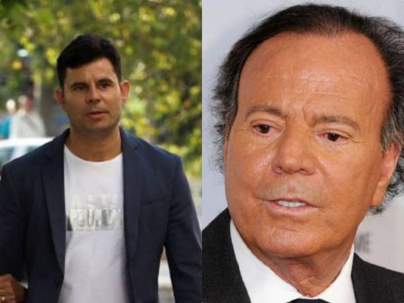 Juez sentencia que Javier Santos es hijo de Julio Iglesias