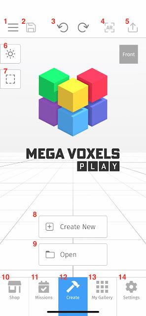 Mega Voxels Play Tutorial for Beginners