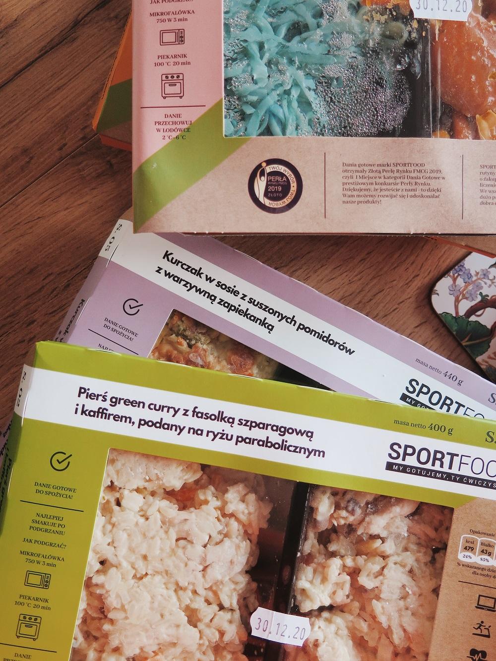 SPORTFOOD  Sposób na szybki i zdrowy obiad w Twoim domu i nietylko