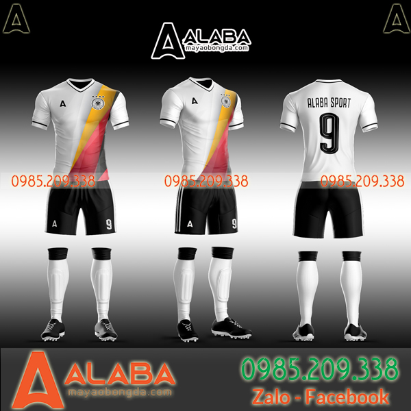 Áo bóng đá tuyển Đức tự thiết kế