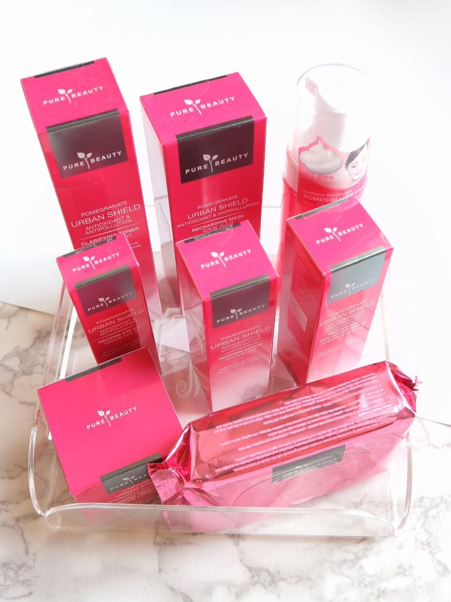 Pure Beauty Pomegranate Urban Shield Skin Care