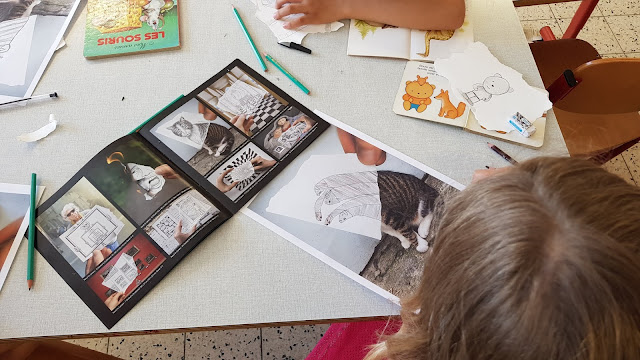 Ateliers scolaires - Ben Heine - Pencil vs Camera - Photo dessin