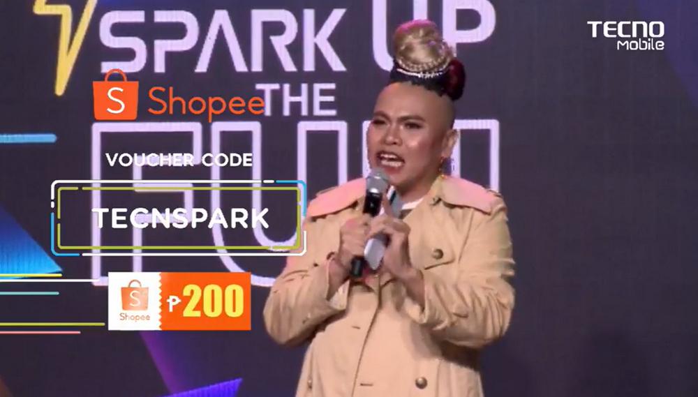 Tecno Mobile Philippines Shopee Voucher