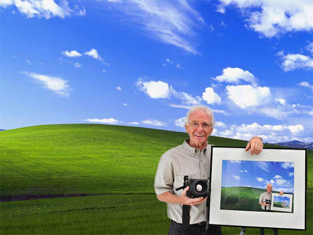 Jurugambar Di Sebalik Wallpaper Windows XP