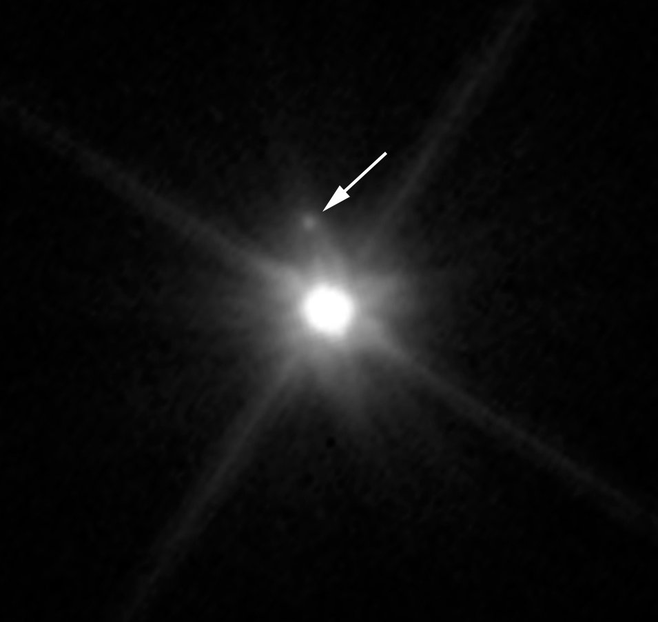 hubble space telescope just discovered a moon hiding in our own