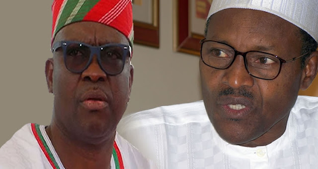 'He has been away for 53 days, it is time for President Buhari to resign' - Governor Fayose