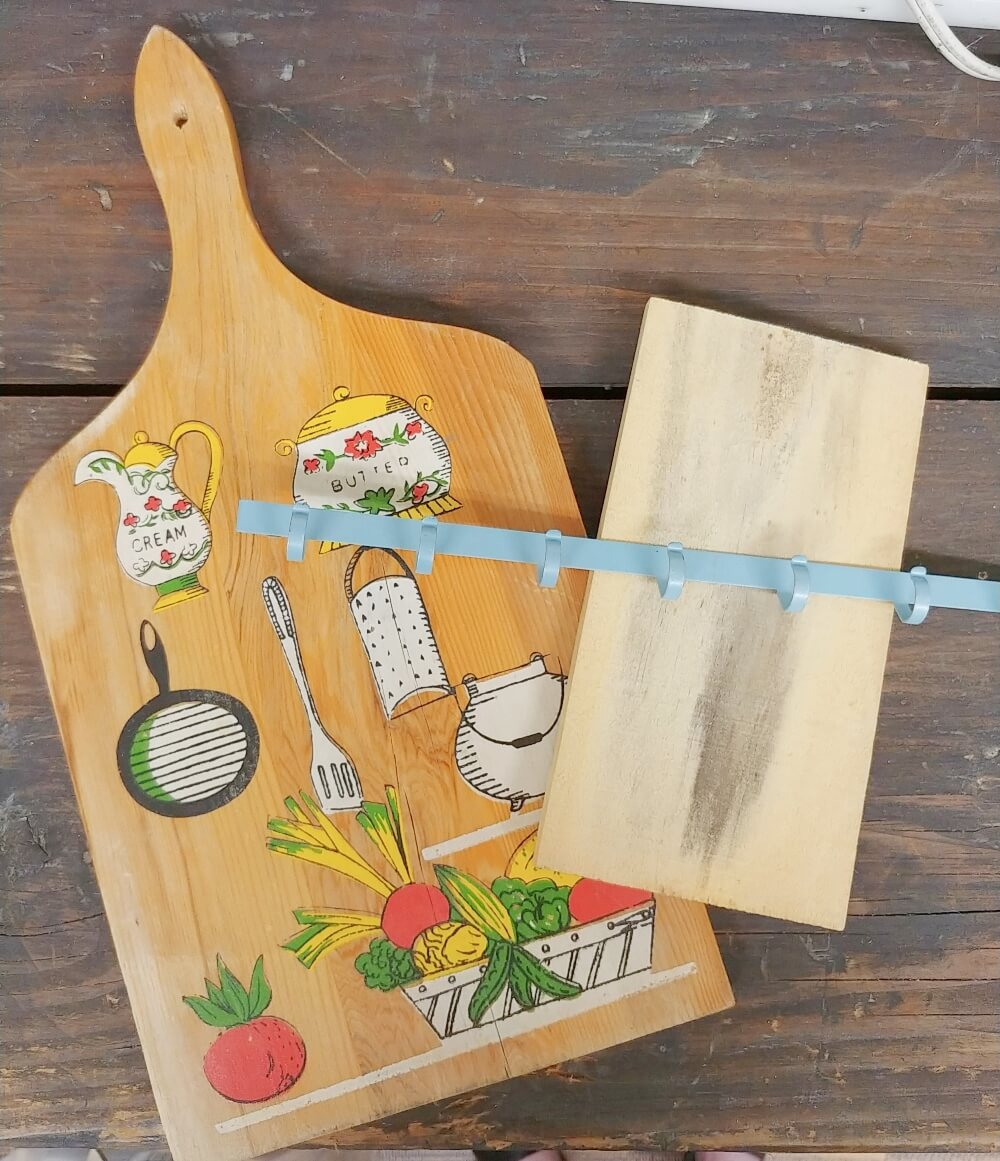 Vintage Cutting Board Makeover