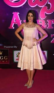 Actress Sakshi Chowdary Stills at Apsara Awards 2016  0015