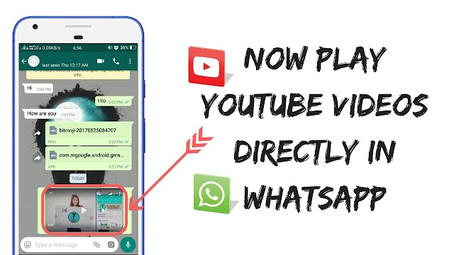 WhatsApp Update: Now, You Can Watch YouTube Videos Within App, While Chatting