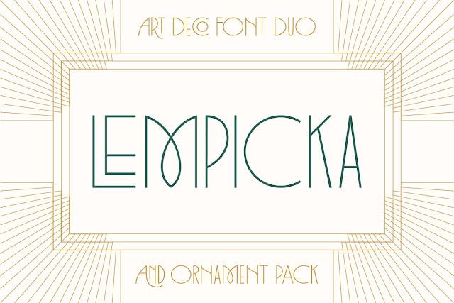 Lempicka Font Family Download Font Free