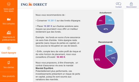 ING Direct - Coach Épargne