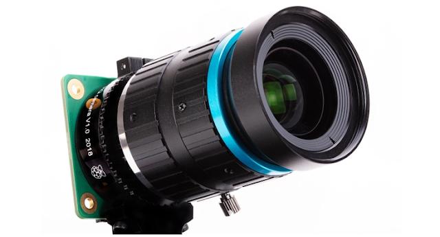 Le Raspberry Pi annonce un appareil photo de 12 mégapixels à 50 Euro avec objectifs interchangeables