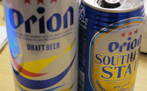 Orion Beer, Okinawa
