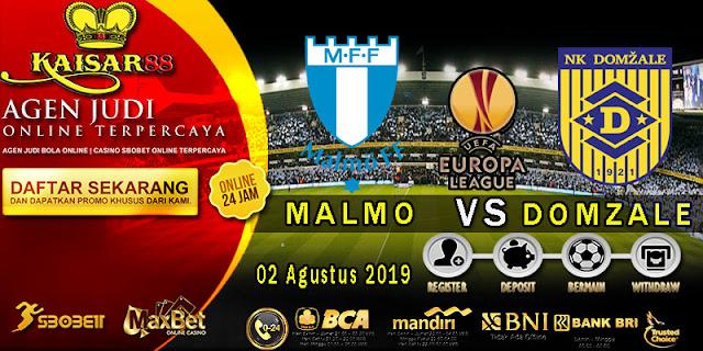 Prediksi Bola Terpercaya Liga Europa League Malmo vs Domzale 2 Agustus 2019
