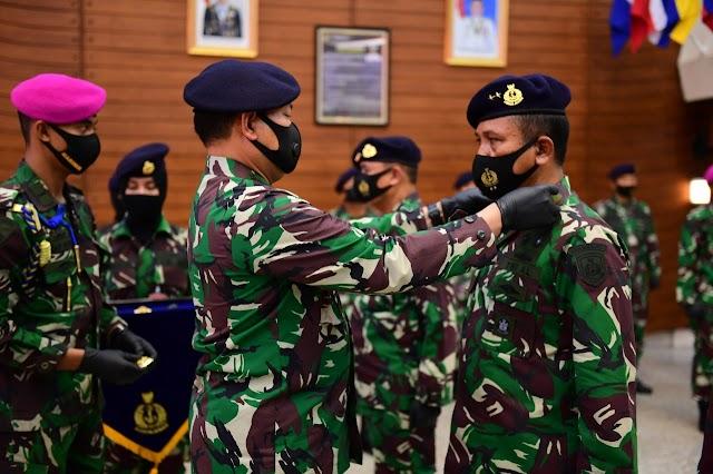 KASAL PIMPIN SERTIJAB DAN PENGUKUHAN BEBERAPA JABATAN BARU TNI AL