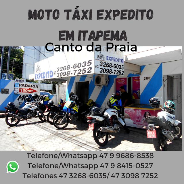 Moto táxi Leva e Traz