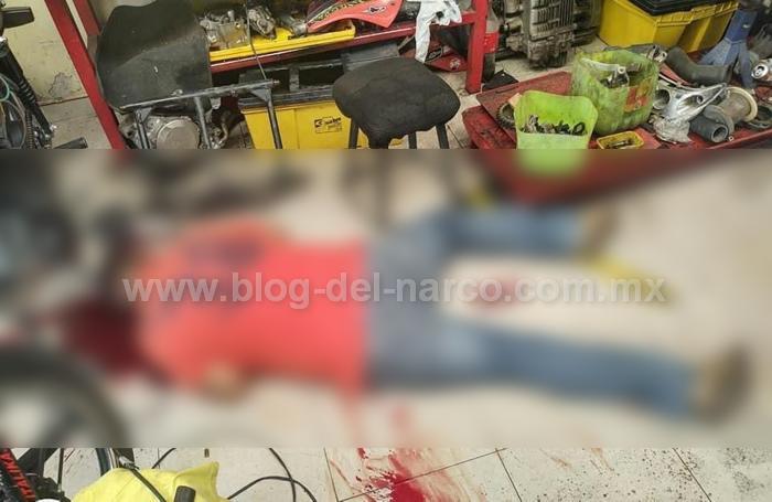Sicarios del Grupo Elite del CJNG atacan taller de motos y ejecutan a 2 en Cortazar; Guanajuato