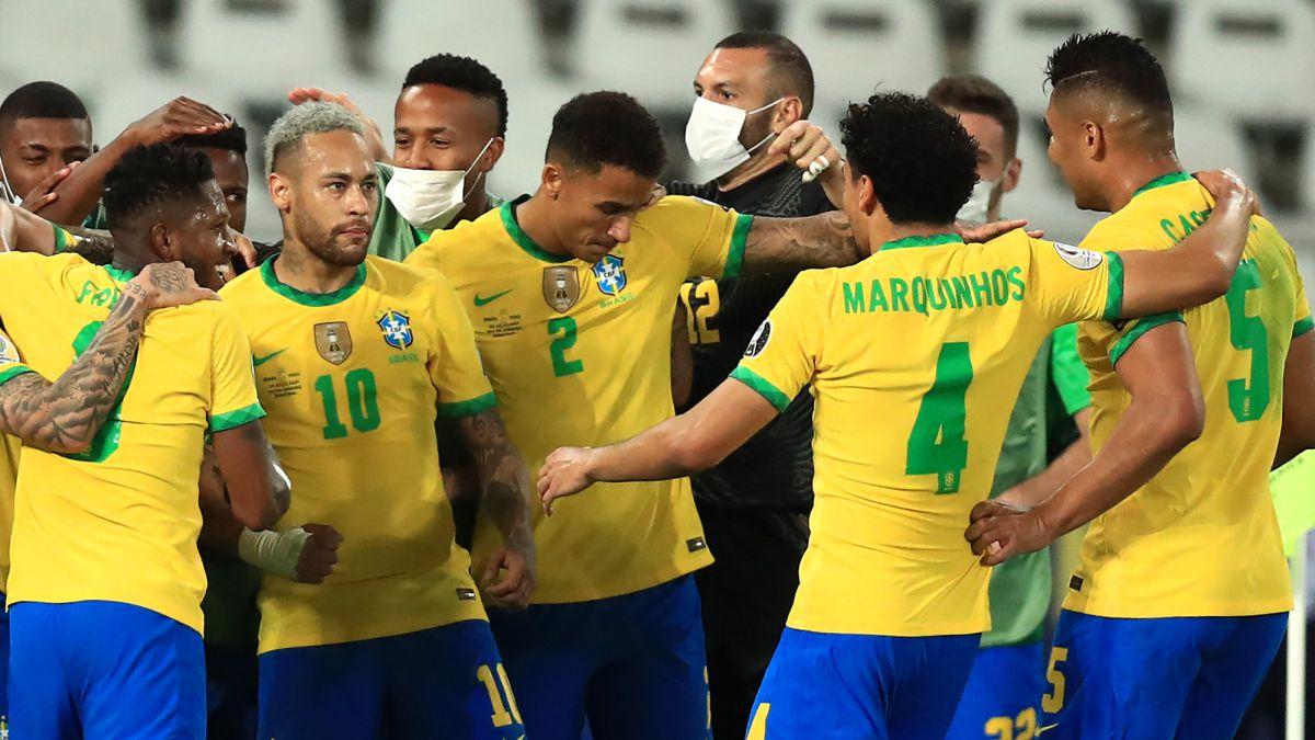ملخص مباراة البرازيل والبيرو اليوم (1-0)