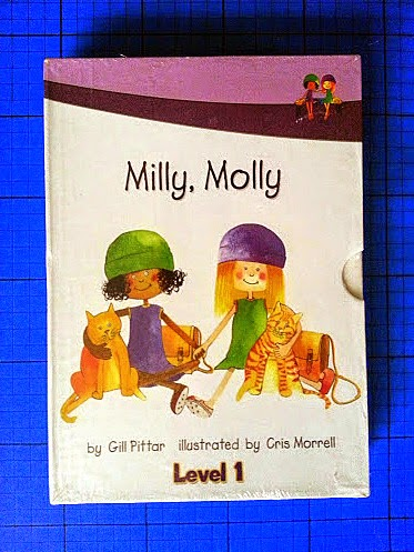 Milly, Molly set of 10 books for level 1 children review