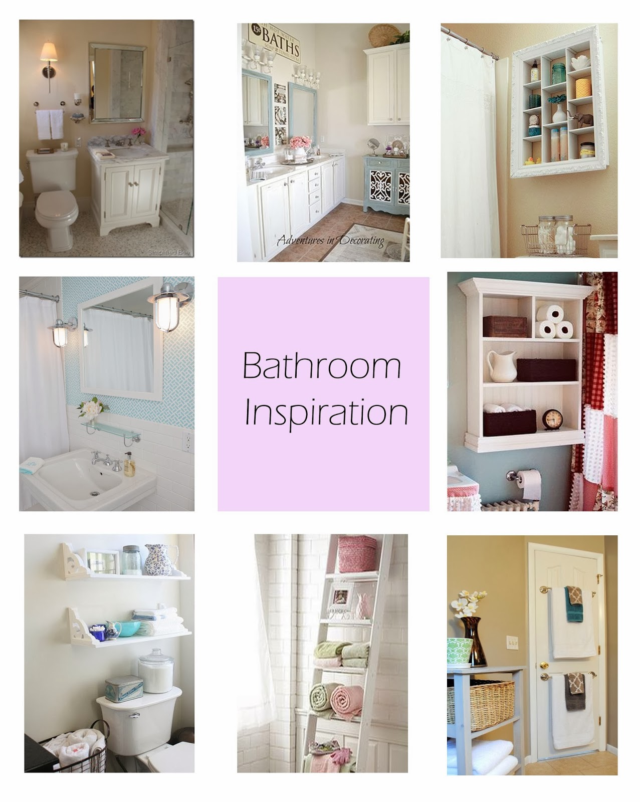 Bathroom Inspiration, Pinterest, Ameyjaney
