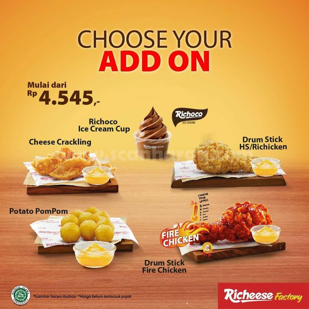 RICHEESE FACTORY PAKET NEW HEMAT! Promo Fire Chicken Harga Mulai Rp 17.273